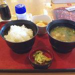ジョイフル - 豚汁定食 398円