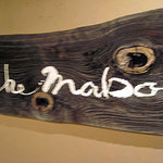 マーボ セカンド - 初代マーボにかかっていた看板