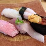 鮨の遊彩 - 料理写真:ランチ(特上)