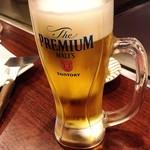 お好み焼・鉄板焼 88 パチパチ - 生ビール