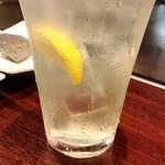 お好み焼・鉄板焼 88 パチパチ - レモンサワー