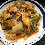 聚福縁 - 豚肉とキムチ炒め