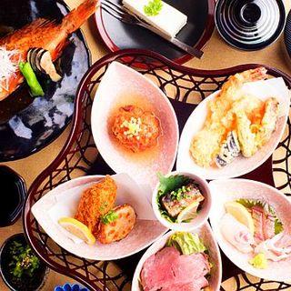 天ぷら・そば・鮮魚が楽しめるランチも人気