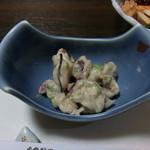 大衆料理 こがね - イカの和え物