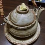 大衆料理 こがね - 松茸の土瓶蒸し