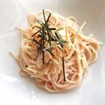 サーレ・ペペ ドゥエ - 特製 博多明太子と細切り野菜のスパゲティ