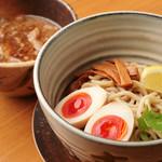 傾奇御麺 - 魚介黒醤油つけ麺