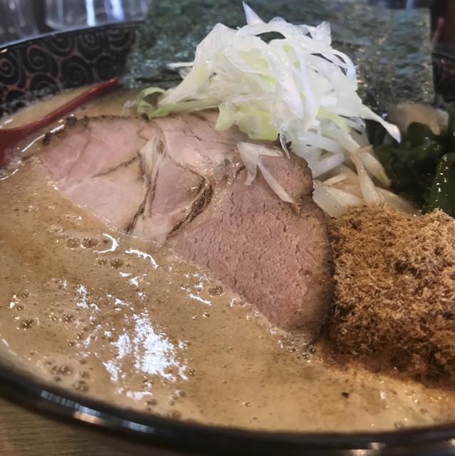 麺屋 天 東大宮店 - 魚系和風味噌らーめん。 旨し。
