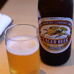 叶屋 - 瓶ビール 500円