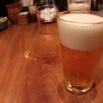 モンスーンカフェ - ハートランド生ビール 590円