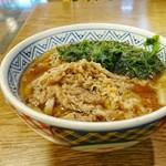 どんどん - 料理写真:肉わかめうどん [¥530]