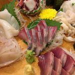 95034119 - お刺身色々…、好きなだけお食べっ、ツマも残さずお食べっ!!
