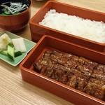 hakataunagiyafujiuna - ◆特うな重(肝吸い・漬物付) 4,200円(税別)