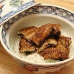 hakataunagiyafujiuna - ◆特うなぎ丼(肝吸い・漬物付) 3,000円(税別)