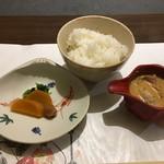 加太淡嶋温泉 大阪屋ひいなの湯 - 鯛のつけ飯