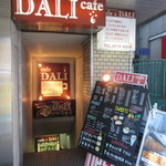cafe DALI - 入り口