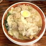 95040714 - 広州雲呑麺 塩(740円)