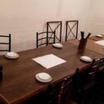 酒交場 ミルジ - 我々のテーブル
