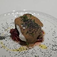 フォリオリーナ・デッラ・ポルタ・フォルトゥーナ - 料理写真:軽い前菜  野生の雷鳥の胸肉とモモ肉