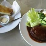 ハンドメイドレストラン 鎌倉 - ハンバーグステーキ1250円(ライスorトースト付)