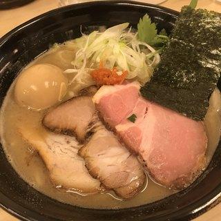 麺処 有彩 - 料理写真:特製豚骨鶏魚介らぁめん中盛