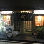とんかつ 美竹 - 路地を入った場所