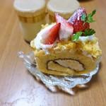 デセール菓樹 - イチゴのケーキ