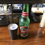 石橋スタンドゐの一 - チンタオビール650円