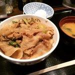 昭和食堂 - 名物スタミナ丼(大盛)