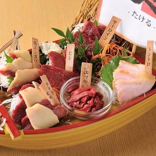 【絶品!肉料理】当店自慢の肉寿司、肉刺し、肉串をご堪能下さい
