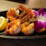 Kaka'ako Dining & Cafe  - ガーリックシュリンプ!