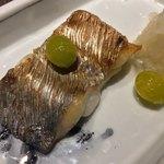 銀座 座屋 - 太刀魚の塩焼き