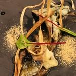 95056935 - 秋刀魚とキノコ