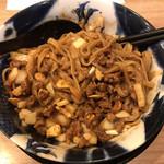担担麺専門店 DAN DAN NOODLES. ENISHI - 混ぜたとこ