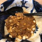 担担麺専門店 DAN DAN NOODLES. ENISHI - 麺終了
