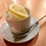 炭焼ひばち - レモンシャーベット
