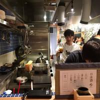 炭焼ひばち-店内(厨房)