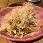 天ぷらスタンドKITSUNE - 厚揚げ