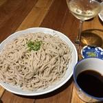天ぷらスタンドKITSUNE - 締めは蕎麦
