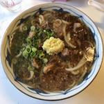 久野 - 料理写真:肉うどん (大)