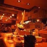 居酒屋 居乃一BAN KANAZAWA - カウンターからの眺め