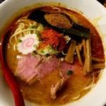 ラーメンストップ ボン - 辛味魚介豚骨ら~麺 750円