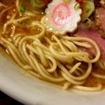 ラーメンストップ ボン - 麺