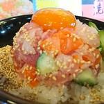 らーめん酒房 遊麺 - 海鮮ネギトロ丼