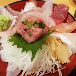 きときと - 能登の地魚たっぷり徳盛り丼1080円