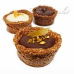 チョコホリック ロースタリー - 料理写真:チョコタルト(オレンジ)