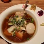95064452 - 柚子香る鶏醤油ラーメン