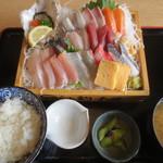 江釣子屋 - 刺身定食