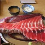 江釣子屋 - まぐろ中落ち定食