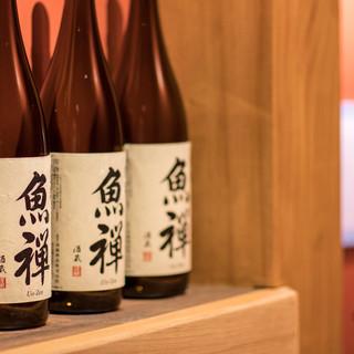 自社蔵元の日本酒や焼酎をはじめ、さまざまなメニューをご用意。